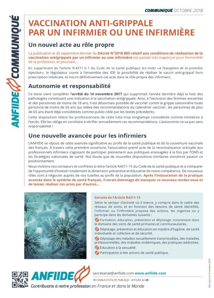 1effe9b9bd5 L ANFIIDE et son GIC RePASI ne sont pas peu fiers de prendre acte de la  publication au JO des textes créant la Pratique Avancée Infirmière en  France !